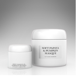 Soft Papaya and Pumpkin Masque $35